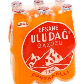 Uludag gazoz orange 6x250cl