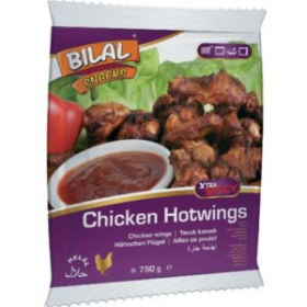 Bilal Hot Wings 750g