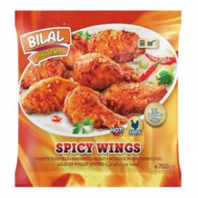 Bilal Spicy Chicken Wings 700g