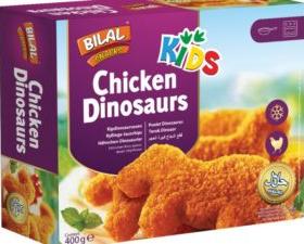Bilal Chicken Dinosaurs 400g