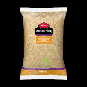 Miras Sari Sivri Pirinc 1kg