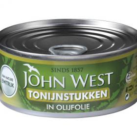 John West Tonijnstukken In Olijfolie 145g