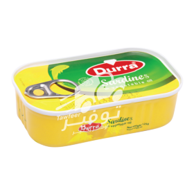 Durra Sardines In Plantaardige Olie 125g