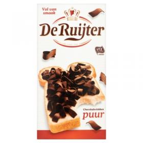 De Ruijter Chocoladevlokken Puur 300g