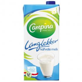 Campina Houdbaar Halfvolle Melk 1L