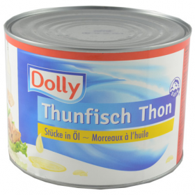 Dolly Thunfisch Chunks In Oil 1705g