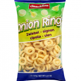 Snackline Onion Rings 125g
