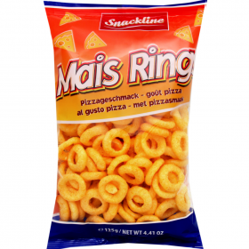 Snackline Mais Rings 125G