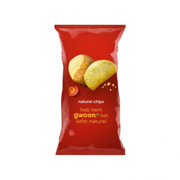 Gwoon Naturel Chips 215g