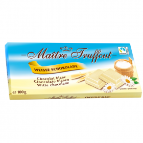 Maitre Truffout Witte Chocola 100g