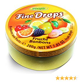Woogie Finedrops Vruchten 200g