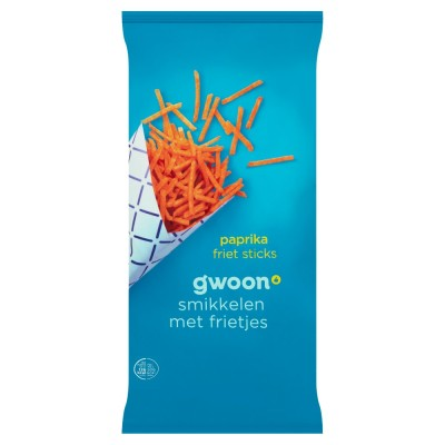 Gwoon Paprika Friet Sticks 150g