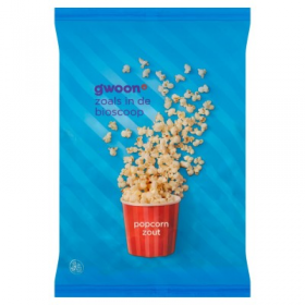 Gwoon Popcorn Zout 100g