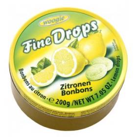 Woogie Fine drops Zitronen 175g