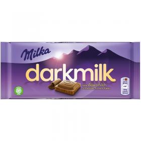 Milka Darkmilk Chocolade 100g