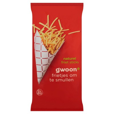 Gwoon Naturel Friet Sticks 150g