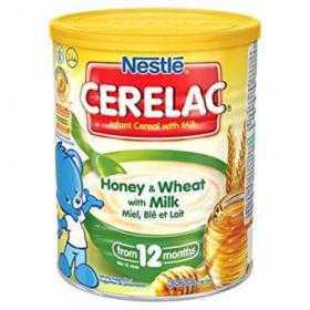 Nestle Cerelac Honey&Wheat 400g