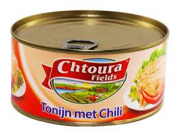 Chtoura Fields Tonijn Met Chili 160g