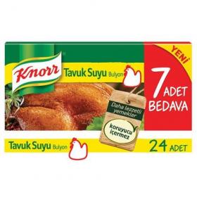 Knorr Tavuk Suyu Bouillon 24st
