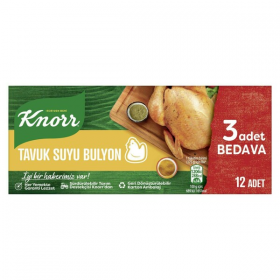 Knorr Tavuk Bulyon 12st