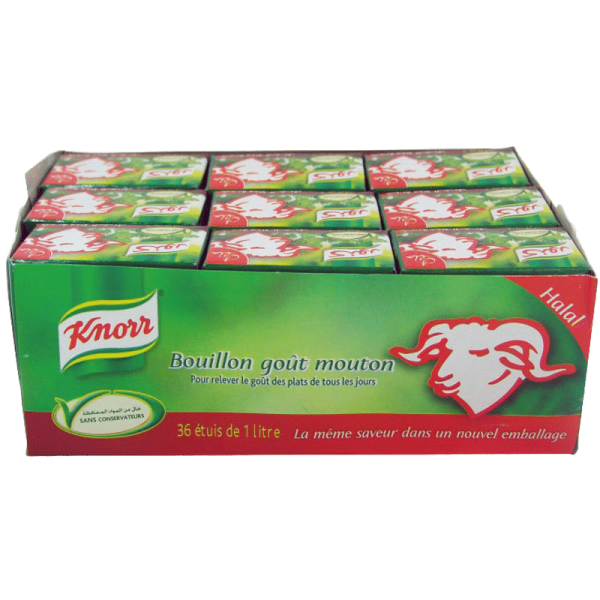Knorr Geiten Bouillon 36st