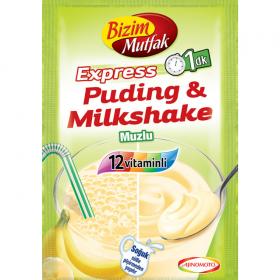 Bizim Mutfak Puding&Milkshake Muzlu 30g