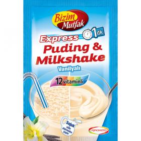 Bizim MutfakPpuding&Milkshake Vanilyali 30g