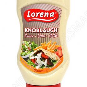 Lorena Knoblauch Saus 500 ml