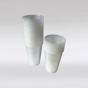Plastic beker 100 stuks