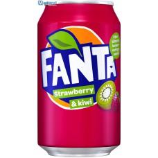 Fanta Aardbei/Kiwi 24x33cl