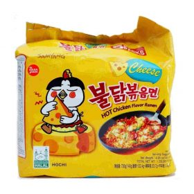 Samyang Hot Chicken Noodles Cheese 5pack