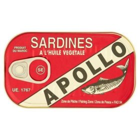 Apollo Sardines in Oil 125g